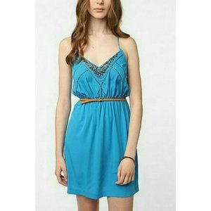 Urban Outfitters Ecote Embellished Strappy Dress M